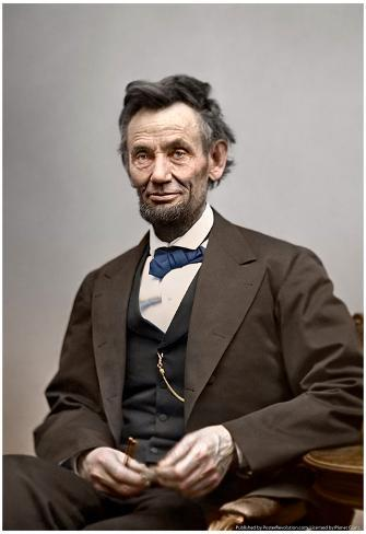 Abraham Lincoln Color Archival Photo Poster Poster