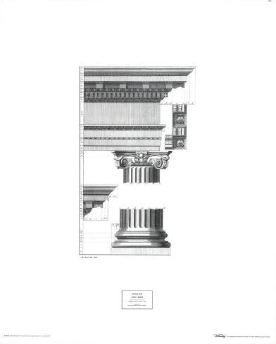 Doric Order Art Print