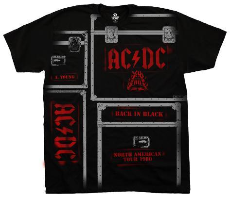 AC/DC - AC/DC Crew T-Shirt