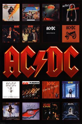 Ac Dc Album Covers Posters At Allposters Com Au