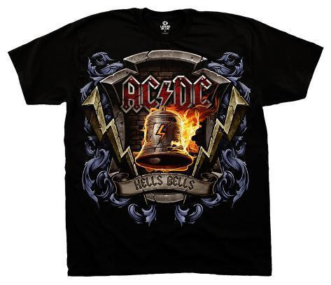 AC/DC - Hells Bells Shield T-Shirt