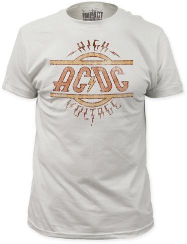 AC/DC - High Voltage (Slim Fit) T-Shirt