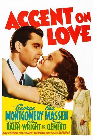 Accent on Love Konstprint