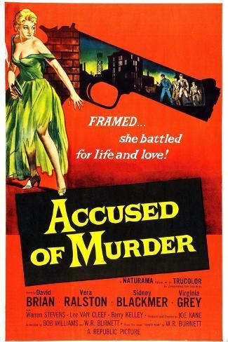 Accused of Murder Art Print