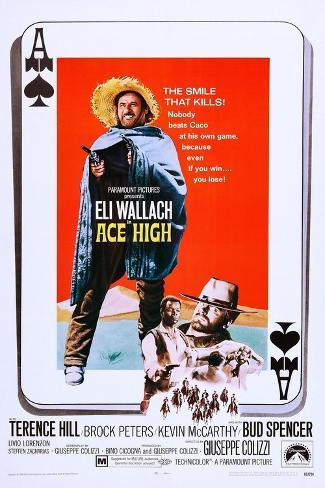 Ace High Art Print