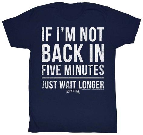 Ace Ventura - 5 Minutes T-paita