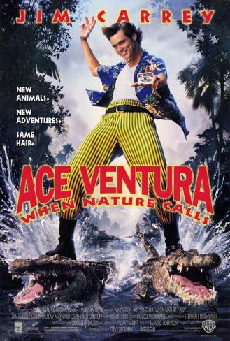 Ace Ventura II: Operación África Póster