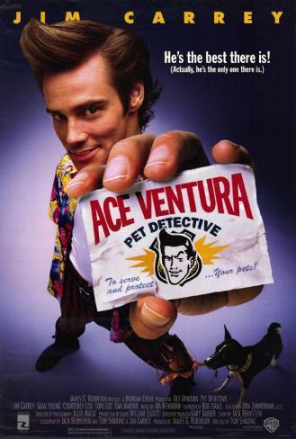 Ace Ventura: l'acchiappanimali Stampa master