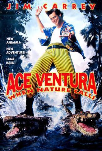 Ace Ventura - When Nature Calls Original Poster