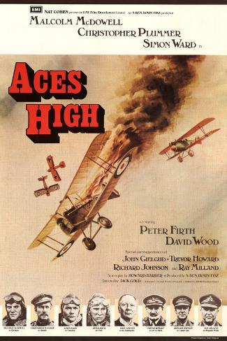 Aces High Art Print