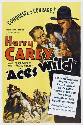 Aces Wild Art Print