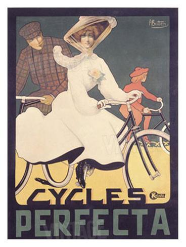 Cycles Perfecta Giclee Print