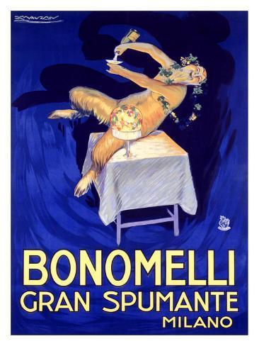 Bonomelli Gran Spumante Giclee Print