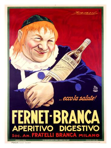 Fernet-Branca Giclee Print