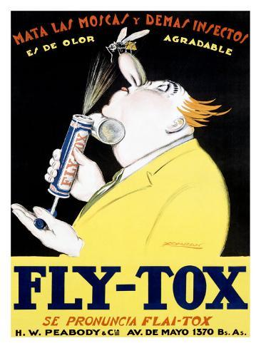 Fly-Tox Giclee Print