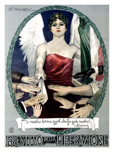 Liberty Bond Prestito Della Liberazione Giclee Print
