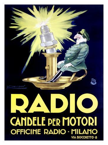 Radio Giclee Print