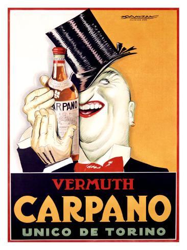 Vermuth Carpano, Unico de Torino Giclee Print