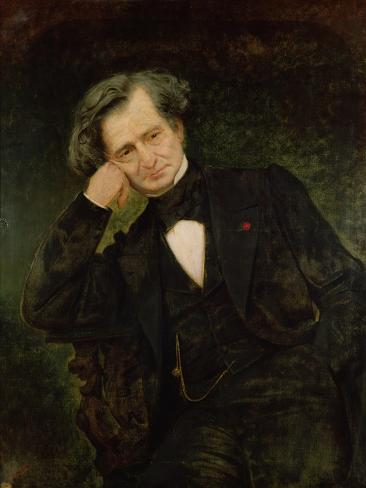 Portrait of Hector Berlioz Giclee Print