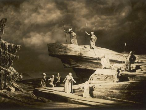 Act Three, as Performed at Bayreuth in 1938 Photographic Print
