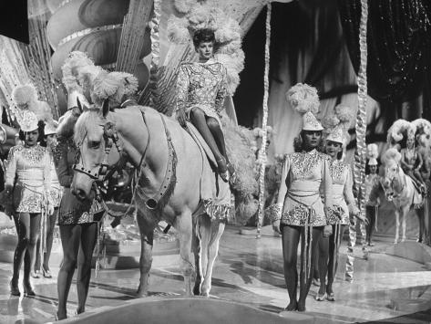 Actress Lucille Ball Performing in a Scene from the Movie