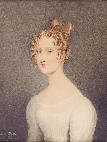 Portrait of Janet Turnbull Impressão giclée