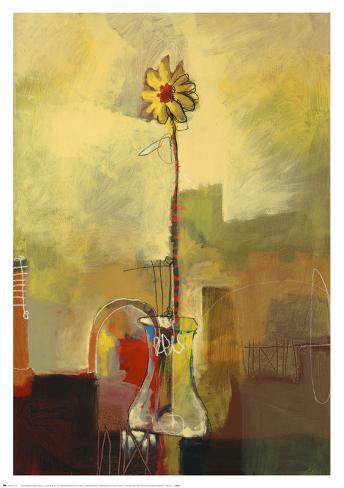 Montage Bloom II Art Print