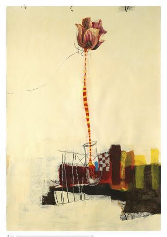 Montage Bloom III Art Print