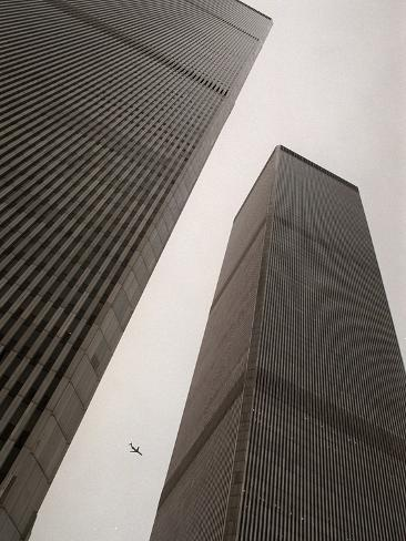 World Trade Center Stretched Canvas Print