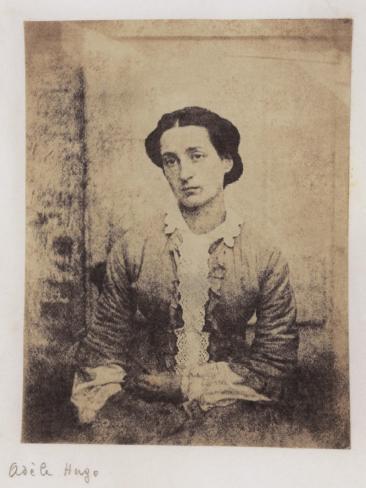 Adèle Hugo Stretched Canvas Print