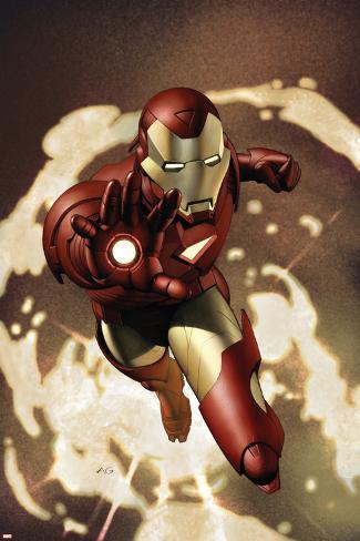 Iron Man No.4 Cover: Iron Man Poster
