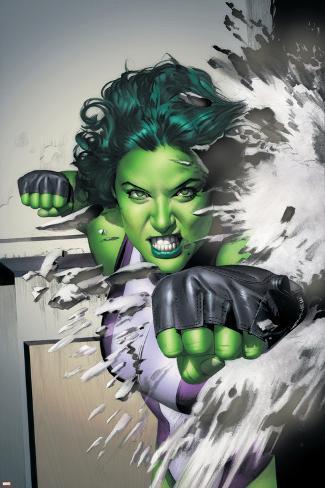 She-Hulk No.5 Cover: She-Hulk Poster