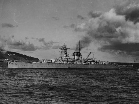 Admiral Scheer Photographic Print