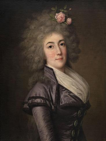 Portrait of Doña Inés María Aguirre Y Yoldi, 1790 Giclee Print