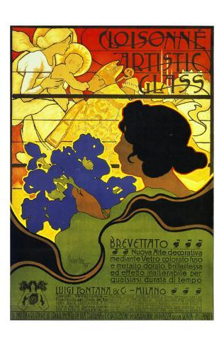 Cloisonne Artists 1899 Art Print