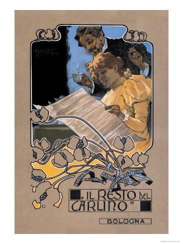 Resto de Carlino Art Print