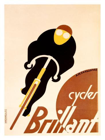 Cycles Brillant Giclee Print