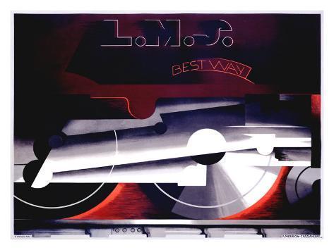 LMS, Best Way Giclee Print