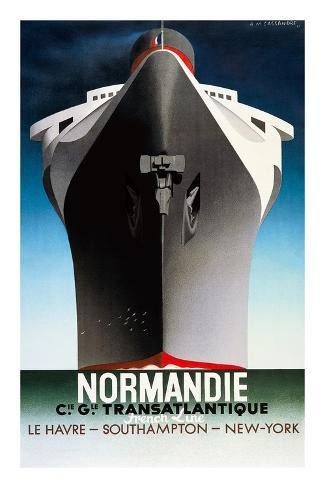 Normandie 1935 Posters By Adolphe Mouron Cassandre