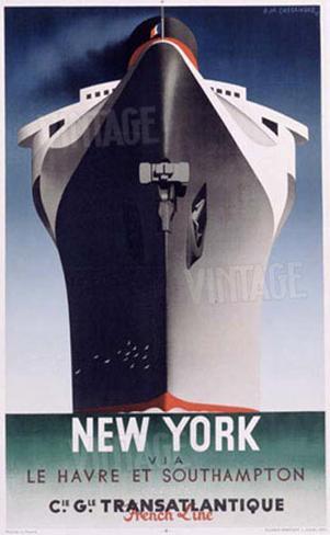 Normandie, New York Giclee Print