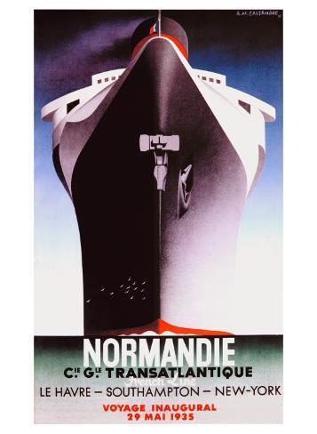 Normandie Giclee Print