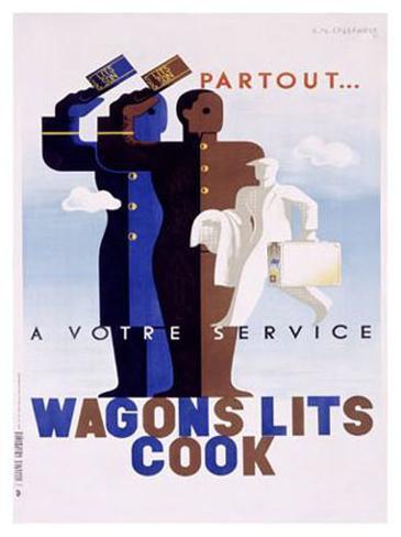 Wagons Lits, Cook Giclee Print