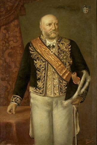Cornelis Pijnacker Hordijk. Gouverneur-General, Adriaan Boudewijnse. Art Print