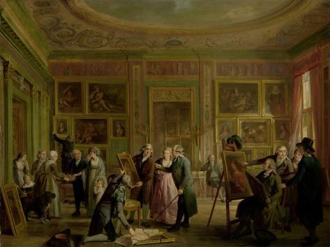 Art Gallery of Josephus Augustinus Brentano Art Print