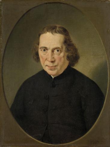 Portrait of Jan Nieuwenhuyzen Art Print
