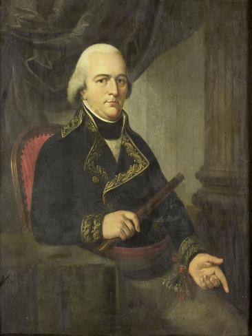 Portrait of Pieter Gerardus Van Overstraten, Governor-General of the Dutch East Indies Art Print