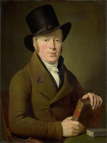 Portrait of the Poet Barend Klijn Barendsz Art Print