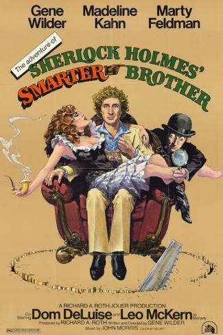 Adventure of Sherlock Holmes Smarter Brother Masterprint