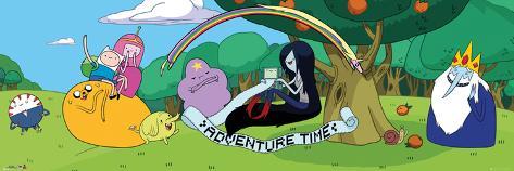 Adventure Time: Cast 2 Door Poster