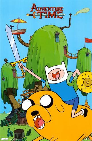 Adventure Time - Finn & Jake Poster